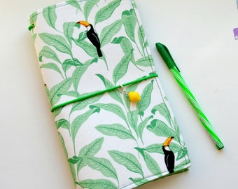 Fabric Cover Fauxdori - Travelers Notebook, Midori insert, Cover fabric, Fabric Midori book, Field Note, Standard Size Midori