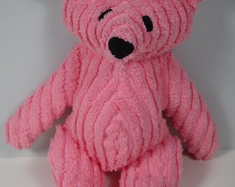 Babys First Toy Chenille Teddy Bear