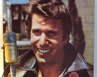 "The Fonz (Henry Winkler from 'Happy Days') 1970s Pop Culture 1950s Mid-Century Rock and Roll Collection ""Fonzie Favorites"" (1976 Paramount)"