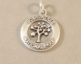 JOSHUA TREE National Park .925 Sterling Silver Charm Pendant California Souvenir New np42