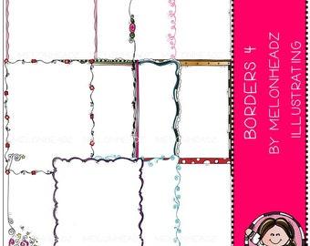 Borders clip art Part 4 - Combo Pack
