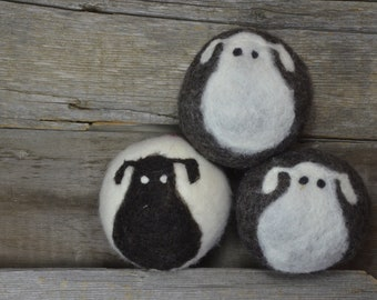 Large Dryer Balls - X- Large - Sheep Dryer Balls