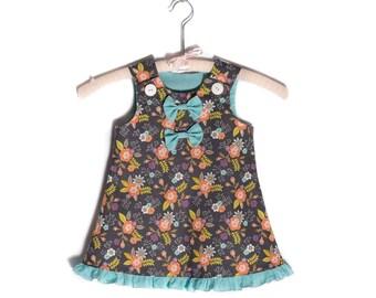 Anissa Dress - Toddler Dress, Baby Dress, Girls Dress, Vintage Dress, Summer Dress, Girls Outfit, Pinafore Dress