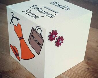 Shopping fund money box