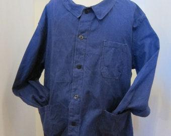 french moleskin workwear jacket 60s xxl