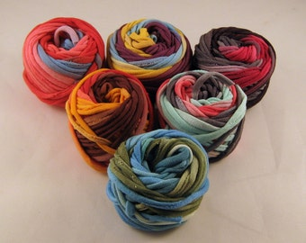Multicolored Small Yarn Ball Grab Bag Sampler