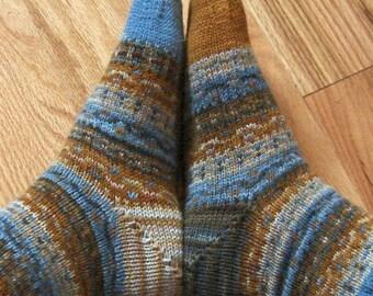 Knit Pattern: Fraternal Socks