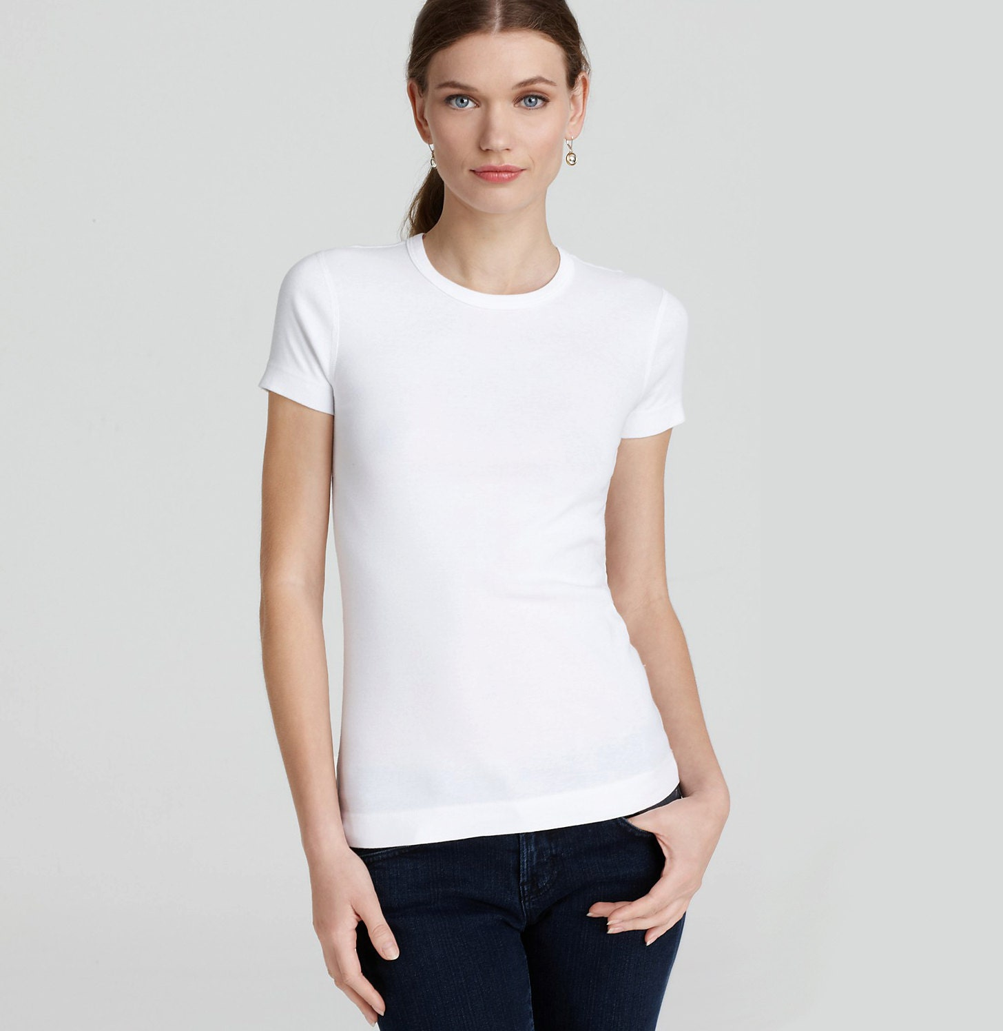 Plain white tshirt plain tshirt plain tshirts plain tee for Plain girls t shirts