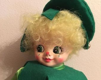 Brinn's doll Irish collectible march calendar clown edition
