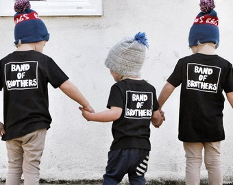 Band of Brothers tshirt, brother tshirt, sibling shirt, pregnancy announcement, gender reveal, big brother shirt, little brother shirt