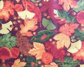 Fat Quarter - Fall Leaves