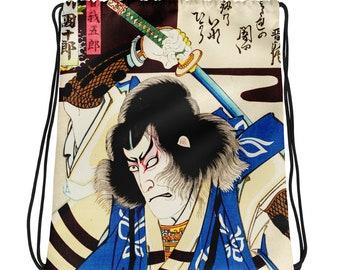 Samurai  Drawstring bag