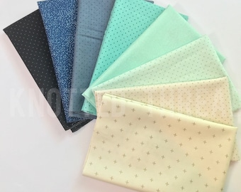 Mermaid's Tail fabric bundle - Knotted Thread exclusive bundle