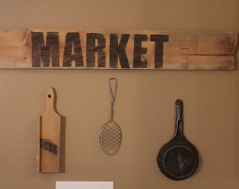 Rustic Reclaimed Wood Sign