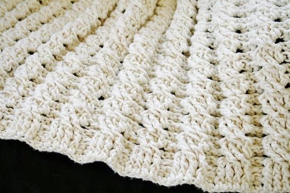 Häkeln Sie afghanische Muster Decke Nancy Afghan Decke