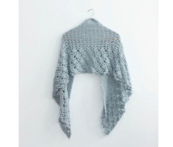 PDF Crochet Shawl Pattern, Wedding Shawl Pattern, Lace Shawl Pattern ...
