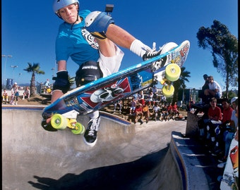 "Tony Hawk Madonna Skateboarding Photograph - 8X10"" 12X16"" 18 x 24"" Eighties Skateboard Photograph - Tony Hawk Skateboard Print"