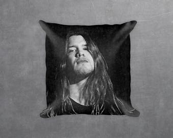 Shannon Hoon Decorative Pillow, Square pillow with\ without zipper, Blind Melon