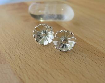 Daisy Dot, Sterling Silver Stud Earrings