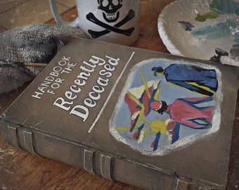 """Beetlejuice """"Handbook For The Recently Deceased"""" Box (Made to Order)"""
