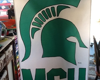 Michigan State Spartans Large Decorative Flag
