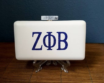 Sorority Pill Box Clutch