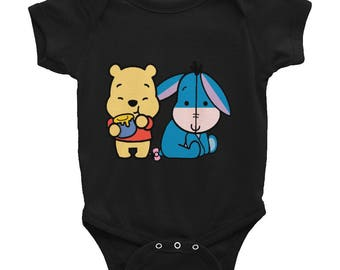 Winnie The Pooh & Eeyore Infant Bodysuit