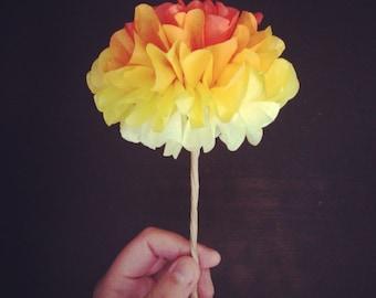 DIY POM FLOWERS 6 count wedding decorations birthday