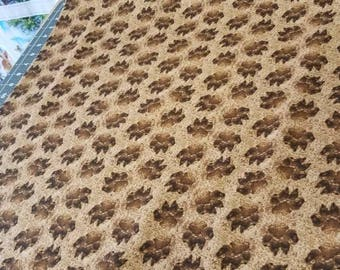 Leopard prints high quality quilt cotton by-the-yard