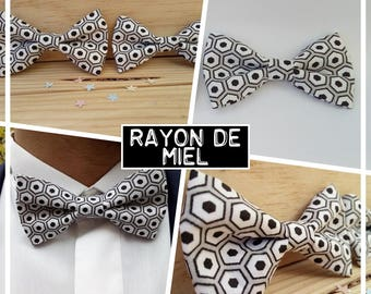 """Collection """"ray of honey"""" bowtie men cover + adult/men/teen/child/baby"""