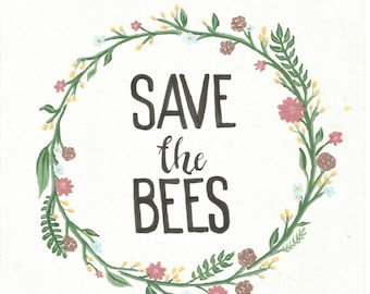 Save The Bees Tees