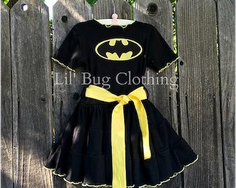 Batgirl Comfy Knit Dress Batgirl Costume Batgirl Outfit Batgirl Birthday Party Superhero Birthday Party & Batgirl costume | Etsy
