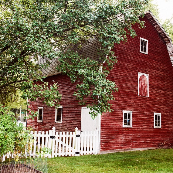 Red Barn Print, Fixer Upper Decor, Country Wall Art,Barn Photo, Cindy Taylor Photography