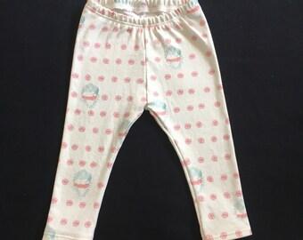 Immaculate Heart Rosette Baby Leggings