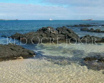Landscape Photography- Beach Photography- Prints- Ocean Photography- Galapagos Islands- Fine Art- Landscape Photo- Wall Art- Decor- Gifts
