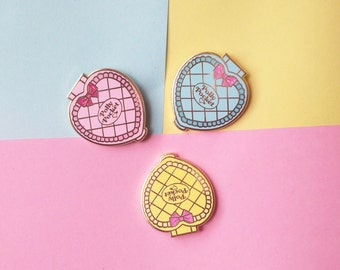 PACK OF 3! - Polly Pocket hard enamel pins