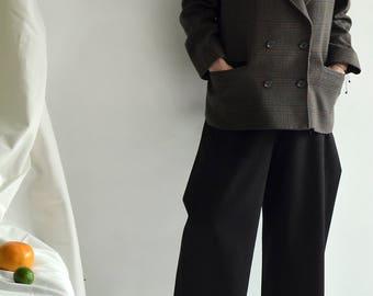 GIVENCHY plaid wool jacket