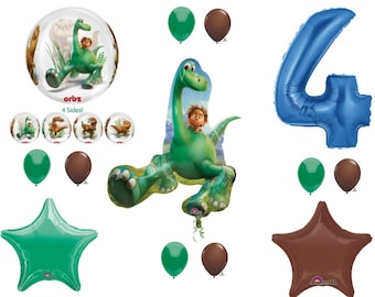 The Good Dinosaur 4th Happy Birthday Party Balloons Decoration Arlo Spot