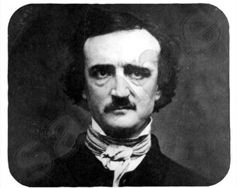 Mouse Pad; Edgar Allan Poe