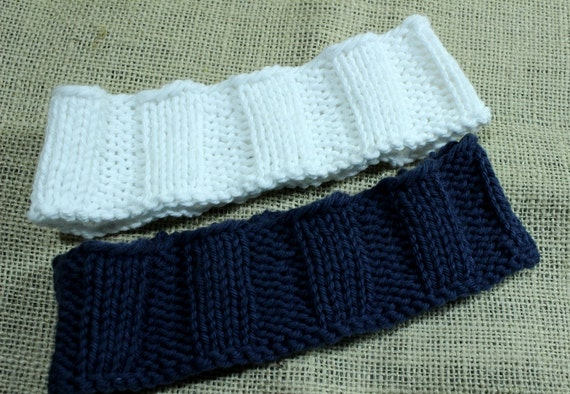 Knitting Patterns For Headbands Wide Knit Headband Design Easy To