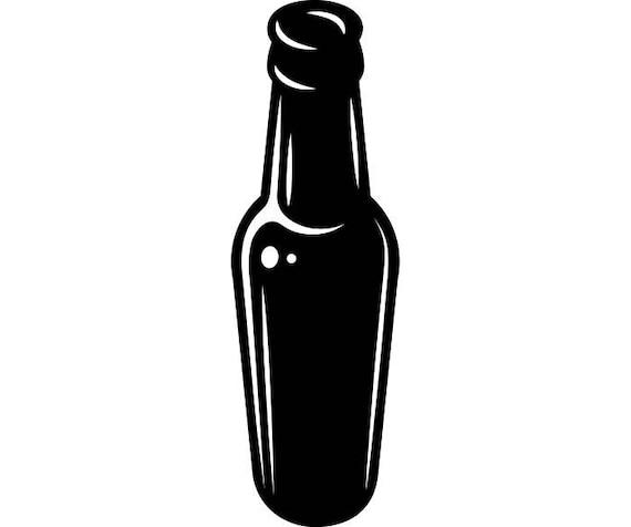 beer bottle 2 open bar pub tavern bartender cheers drink rh etsy com milk bottle vector png whiskey bottle vector png