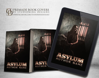 """Premade Digital eBook Book Cover Design """"Asylum"""""""