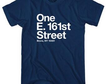 New York Baseball Stadium BXNY T-shirt - Men and Unisex - XS S M L XL 2x 3x 4x - Tee, Gift, Sports, Fan, Bronx - 4 Colors