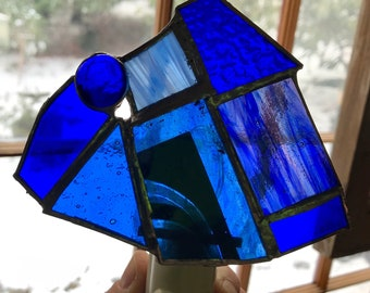 Cobalt blue nightlight