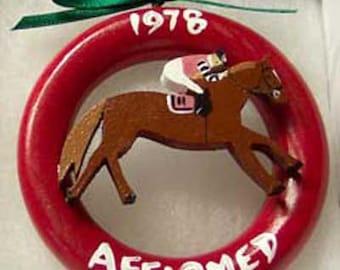 1978 Affirmed Triple Crown Ring