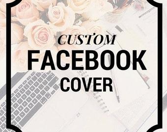 CUSTOM Facebook Page Cover Branding Graphic Design Social Media Art