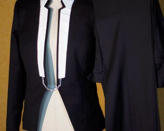Superfine and Silk----The Perfect Women;s Tuxedo