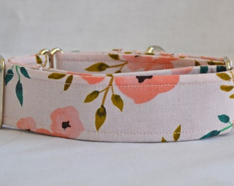 The Hallie Dog Collar (Martingale or Buckle)