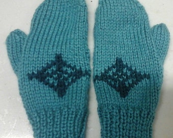 Mittens disney frozen logo for 9 to 12 years old girl