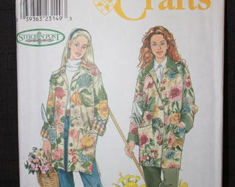 Simplicity 8807   Misses Jacket in Sizes Small, Medium, Large and Xlarge
